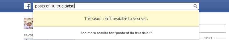Graph Search Posts