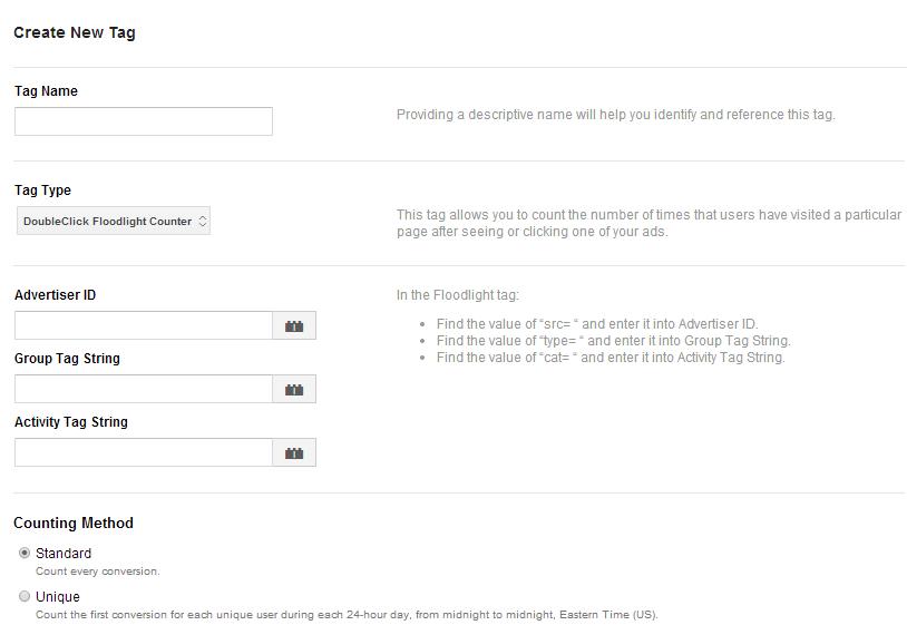 Khai báo và tạo Tag trong Google Tag Manager